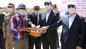 Sivas'ta Süt ve Damızlık Düve Üretimi Uuygulama Eğitim Çiftiğinin Temeli Atıldı