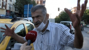 Bahçelievler'de patlama anında dehşeti yaşayan taksici konuştu