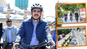 Bisiklet Şehri Konya Türkiye'ye Örnek Oluyor!