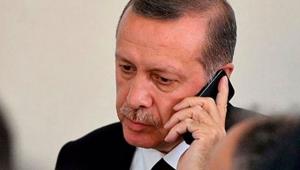 Cumhurbaşkanı Erdoğan, KKTC Başbakanı Tatar ile görüştü!