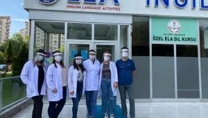 Ela İngilizce Dil Kursu Koronavirüs Salgını İçin Tüm Tedbirleri Aldı!