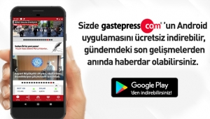 Gastepress.com Android Uygulaması Yayında!
