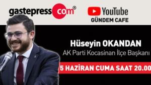 Gastepress.com Gündem Cafe'nin Bu Hafta Canlı Yayın Konuğu AK Parti Kocasinan İlçe Başkanı Hüseyin Okandan!