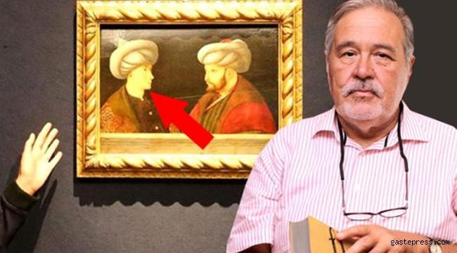 İBB'nin satın aldığı Fatih tablosundaki gencin kim olduğu çok tartışıldı!