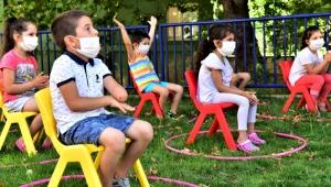 İzmir Bornova'da miniklere özel moral etkinliği yapıldı!