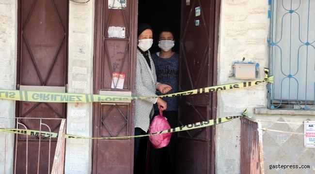 Kayseri'de 5 binada 'koronavirüs' karantinası