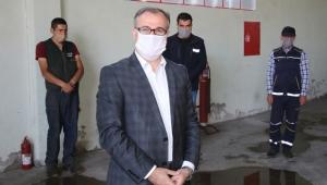 Kayseri Hacılar'da Başkan Özdoğan