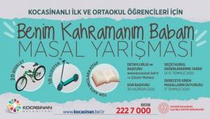 Kayseri Kocasinan'dan Öğrencilere Yönelik Masal Yarışması!