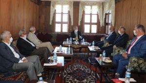Kayseri Talas'ta Başkan Mustafa Yalçın Meclis Üyeleriyle Buluştu!