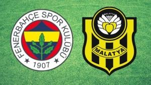 Ligde iddiası kalmayan Fenerbahçe, tehlike bölgesindeki Yeni Malatyaspor'u konuk ediyor!
