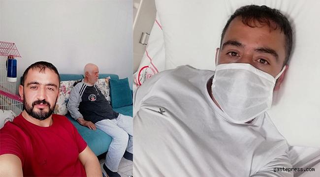 Oğluyla tedavi gördüğü hastanede koronavirüsten öldü