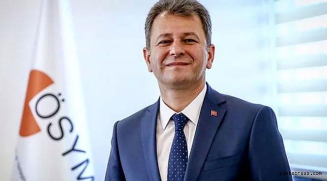 ÖSYM Başkanı Aygün: YKS'nin tüm oturumları başarıyla tamamlandı