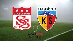 Süper Lig. Hafta 29. Sivasspor Kayserispor maçı özeti