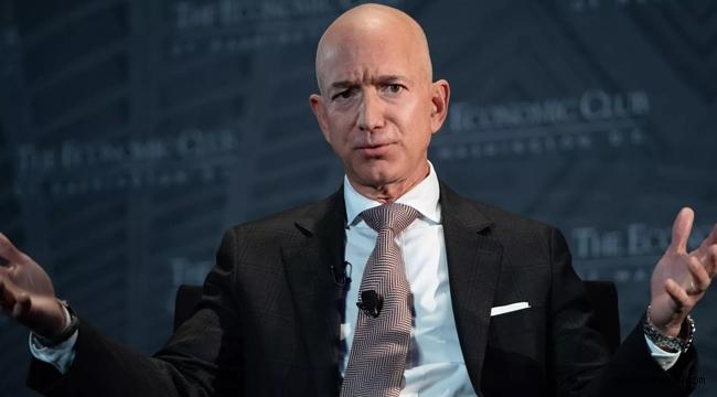 Amazon'un kurucusu Bezos'un serveti rekor kırdı!