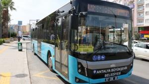 Antalya Büyükşehir'den Toplu ulaşım hatlarına revize geldi!