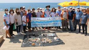 Antalya Konyaaltı Sahili temizlend!