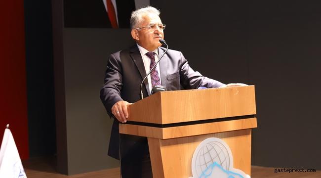 Başkan Büyükkılıç, Kayseri Serbest Bölgesi Olağan Mali Genel Kurulu'nda çağrıda bulundu!