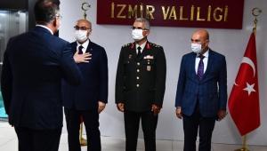 Başkan Tunç Soyer, İzmir Valiliği'ndeki bayramlaşma törenine katıldı!