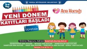 Bursa'da, Ana Kucağı'nda ön kayıtlar başladı!
