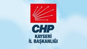 CHP Kayseri İl Başkanı Ümit Özer Sivas Katliamının yıldönümü dolayısıyla basın açıklaması yayımladı!