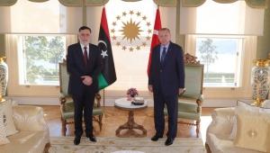 Cumhurbaşkanı Erdoğan Sarrac'ı kabul etti!