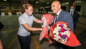 İzmir'de Başkan Tunç Soyer'den şafak ziyareti!