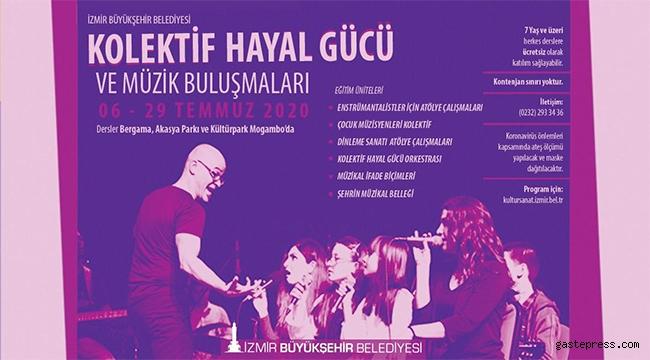 İzmir'de Kolektif Hayal Gücü ve Müzik Buluşmaları Başlıyor