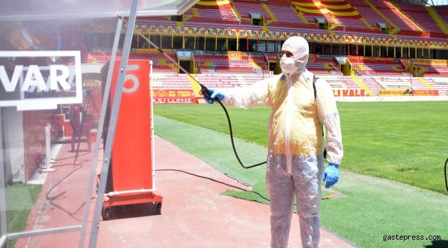 Kadir Has Stadyumu, Beşiktaş maçına hazır!