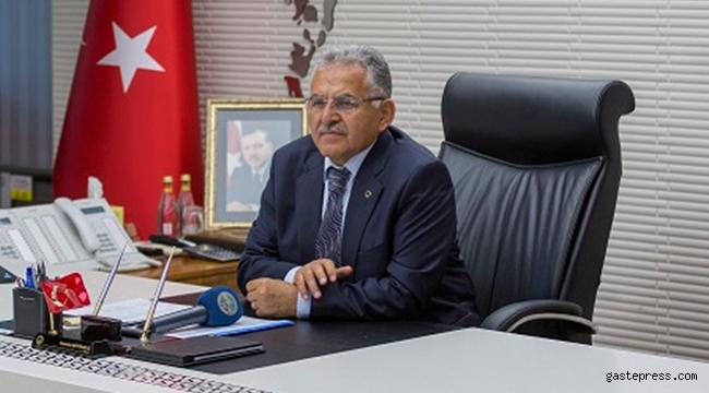 Kayseri Büyükşehir Belediye Başkanı Memduh Büyükkılıç'tan Millet Bahçesi Müjdesi!