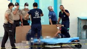 Kayseri'de 8'inci kattan atlayan kadın öldü!