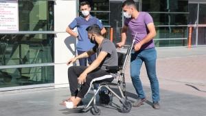 Kayseri'de acemi kasaplar hastanelere koştu!