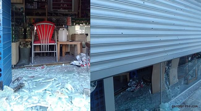 Kayseri'de silah dükkânı kurşunlandı