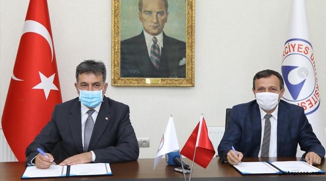 """Kayseri ERÜ ile Gençlik ve Spor İl Müdürlüğü Arasında """"İşbirliği Protokolü"""" İmzalandı!"""