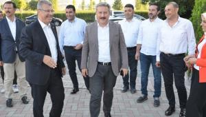 Kayseri Melikgazi Belediye Başkanı Palancıoğlu Kayseri Şeker'de!