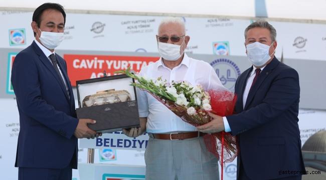 Kayseri Melikgazi Cavit Yurttaş Cami, Arefe Günü Dualarla Açıldı!