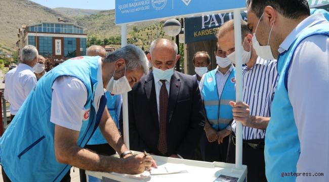 Kayseri Yahyalı Belediye Başkanı Esat Öztürk Vekalet Kurban Bağışı Yaptı!