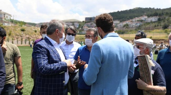 Kayseri Melikgazi Belediye Başkanı Mustafa Palancıoğlu Hisarcık'ta!
