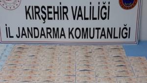 Kırşehir'de sahte para operasyonunad 1 kişi gözaltına alındı!