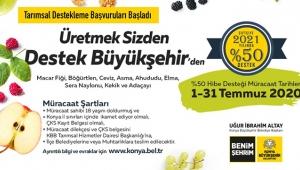 Konya'da 2021 Yılı Tarımsal Destek Başvuruları Başladı!