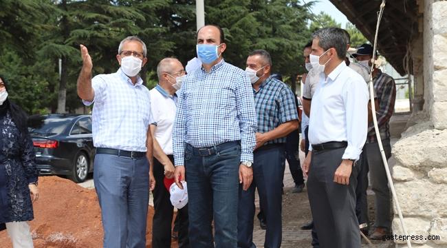 Konya'da Başkan Altay Sarayönü'nde İncelemelerde Bulundu!