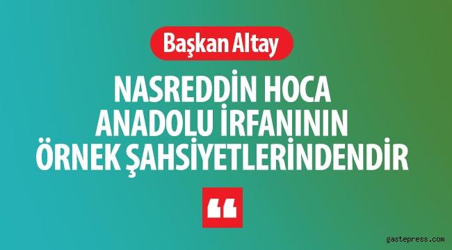 Konya'da, Nasreddin Hoca Anadolu İrfanının Örnek Şahsiyetlerindendir!