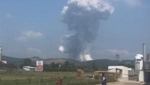Sakarya Hendek'te havai fişek fabrikasında patlama meydana geldi!