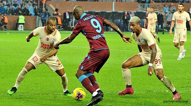 Süper Lig'de dev maç! Galatasaray, Ali Sami Yen'de Trabzonspor'u ağırlayacak!