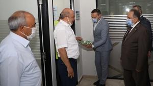 Talas Belediye Başkanı Mustafa Yalçın Belediye Personeliyle Bayramlaştı!