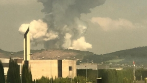 Türkiye'nin en büyük havai fişek fabrikası patladı!