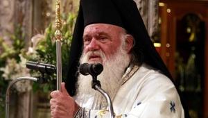 Yunanistan'da bayraklar yarıya indi! Yunan Başpiskoposu haddini aştı!