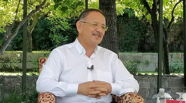 AK Parti Genel Başkan Yardımcısı Mehmet Özhaseki, bütün projeleri birebir takip ediyorum!