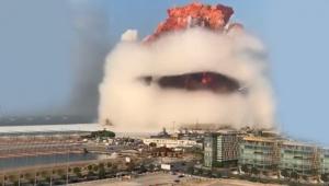 Beyrut'taki patlamada ölü sayısı 100'e ulaştı!