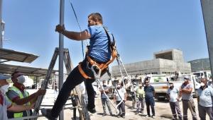 Bornova'da önce iş güvenliği!