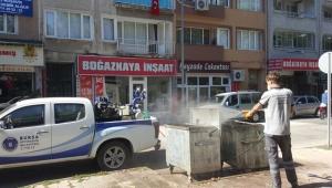 Bursa'da bayram boyunca kesintisiz hijyen!